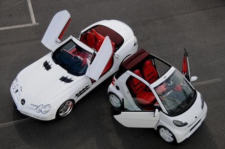 BRABUS MERCEDES & SMART FOR TWO CABRIOLET - mercedes-benz