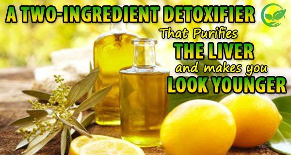 A Two-Ingredient Detoxifier That Purifies The Liver and Makes You Look Younger