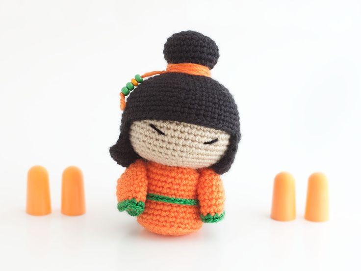 82 best AMIGURIMI : doll japanese images on Pinterest | Amigurumi ...