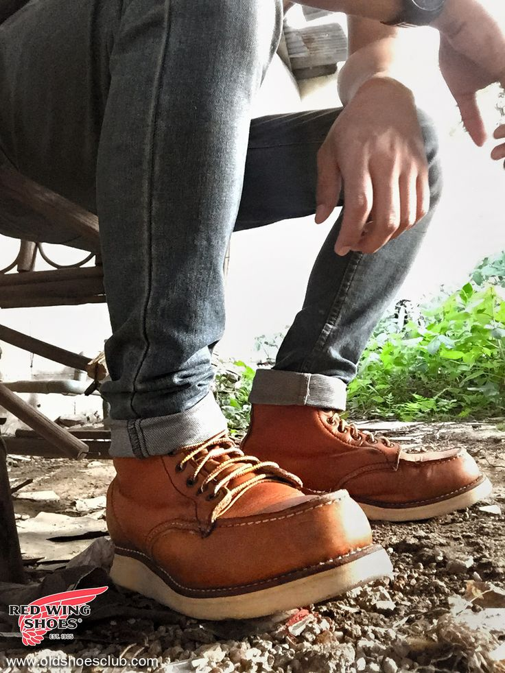 Red Wing 875 Us10 Code 910510 From 6,890 Baht to 6,390 Baht Measurements 28 - 28.5 CM  www.oldshoesclub.com Id line: Oldshoes_toom 081-1652732 Oldshoes #redwings #boot #875