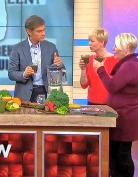 Dr. Oz reveals detox cleanse diet for weight loss and melting belly fat (interesting, may have to try sometime)