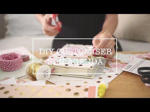 DIY customiser son agenda. - YouTube