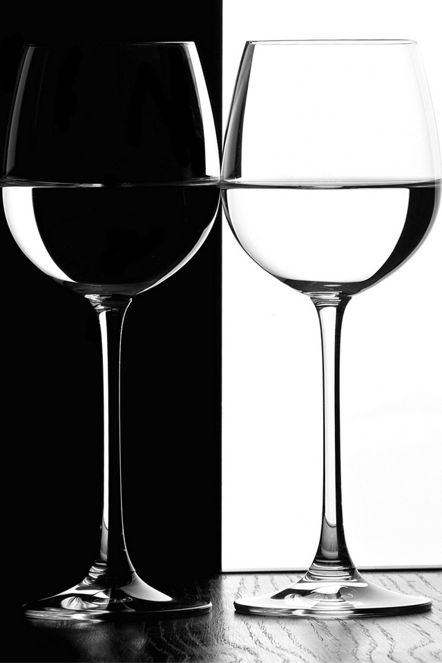 Black And Gold Drinking Glasses