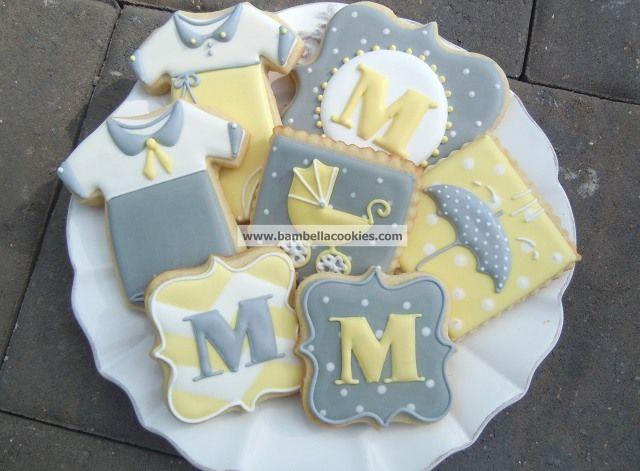 Bambella Cookie Boutique | Baby - love the colour combo & the UMBRELLA! cute!