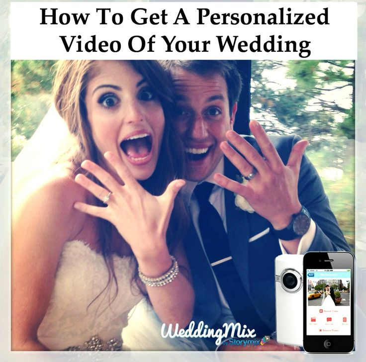 The most popular wedding app to get your personalized wedding video! Capture every guest photo + video in one spot with the WeddingMix app and HD rental cameras. The best part? You get a professionally edited wedding video to share and enjoy forever. Brilliant!