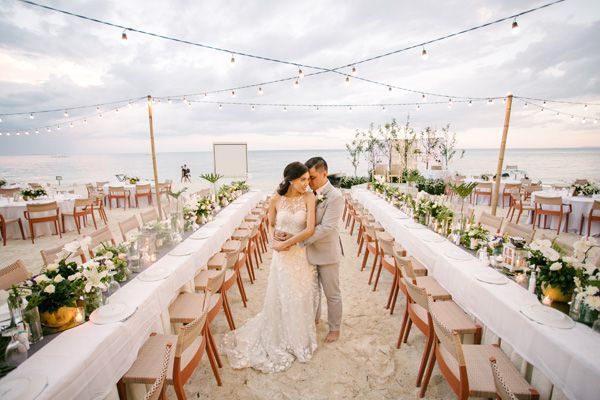 A Cool And Relaxed Beach Wedding In Panglao With Images Beach