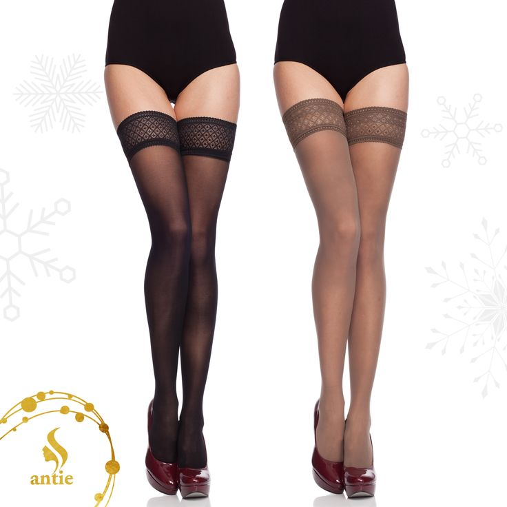 Antie stockings - elegant, strong, sexy. Great Christmas Style #antie #antiewear #legwear