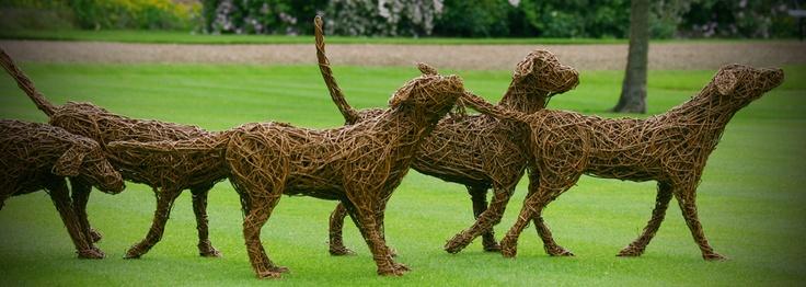 Willow sculpture.