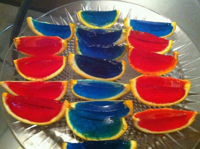 Patriotic Jello Shots | Holidays | Pinterest