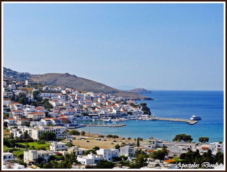 Batsi - Andros Island by Apostolos