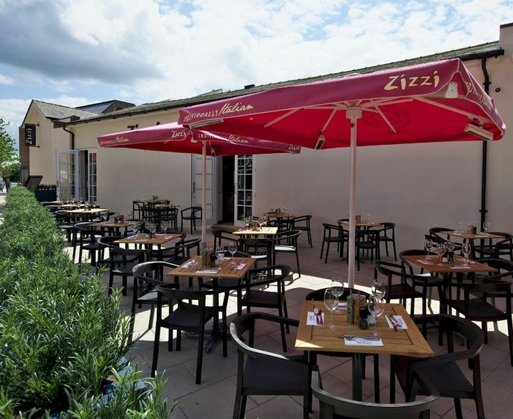 Outdoor seating | Zizzi Hereford, 2014
