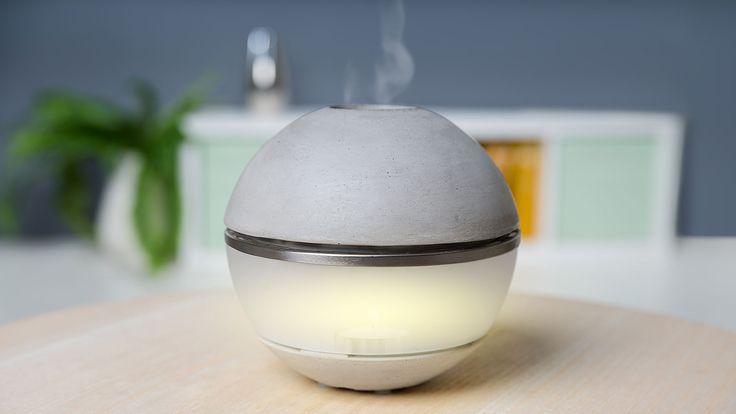 Salzofen Vitalofen zum Salz &Duftmischungen räuchern ca. Ø 17,5×16,5 cm