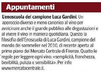 Siamo sul Corriere Fiorentino. Se siete a #Firenze vi aspettiamo!