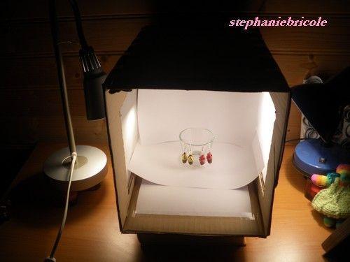 Faire de belles photos de petits objets, petits plats ... grâce à une boîte lumineuse