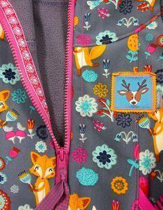 Reißverschluss mit Webband annähen - Stylefix - Tutorial Jacken Reißverschluss von Farbenmix