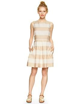 Rugby fit & flare dress | GAP