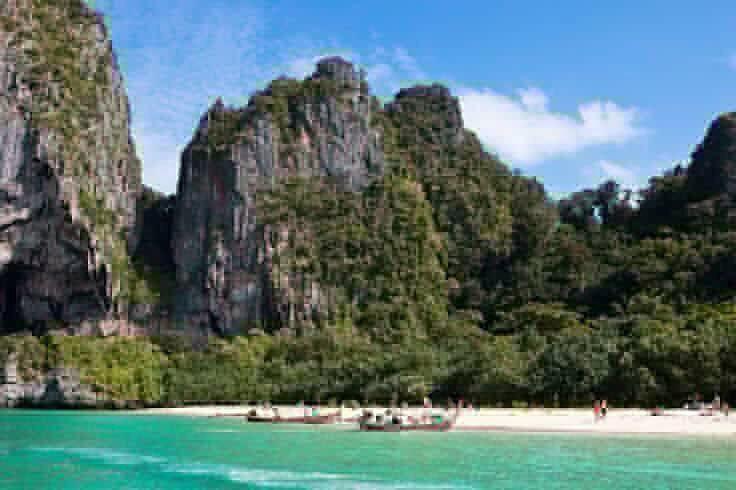Railay Beach Krabi Tailandia.