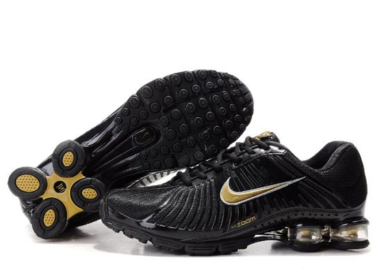 Nike Shox Experience Men Shoes  Black Gold Besides that the most  important selling point