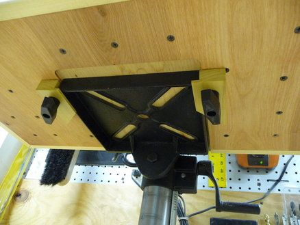 Diy Drill Press Table Plans Woodworking Projects Amp Plans