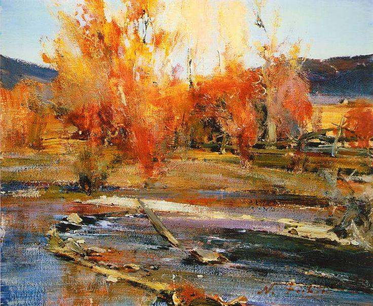 Пейзаж Нью-Мексико (1927-1933). Николай Фешин