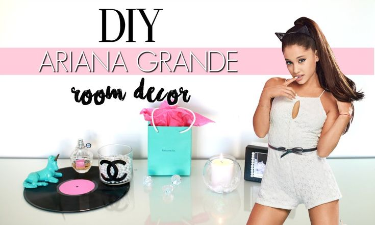 diy ariana grande room decor