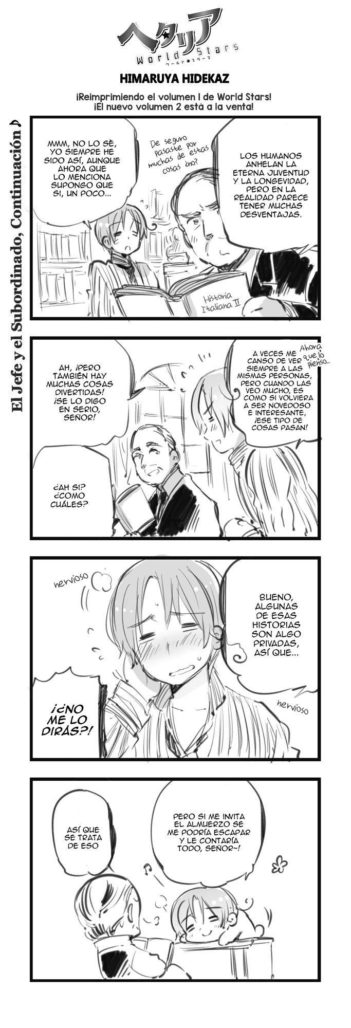 ヘタリア: World ☆ Stars - Capítulo 98