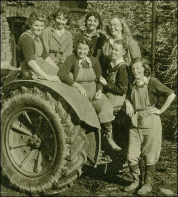 UK Land Girls Honoured For World War II Efforts | Without them, Britain would have faced famine, and they were still needed for years after VE Day