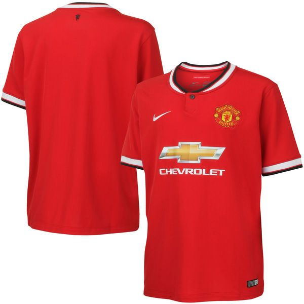 2014/15 Manchester United FC Nike Youth Home Stadium Soccer Jersey – Red - $37.99
