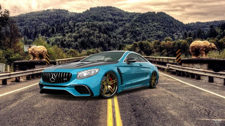 Checkout my tuning #Mercedes #S-Class 2015 at 3DTuning #3dtuning #tuning