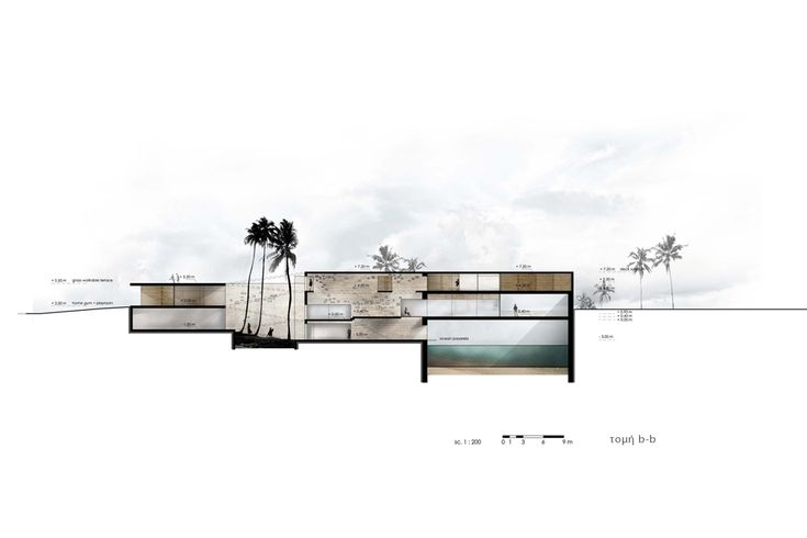 Inhabitable Slot / Dimos Moysiadis + Ioannis Oikonomou + Xaris Tsitsikas...beautiful drawings!