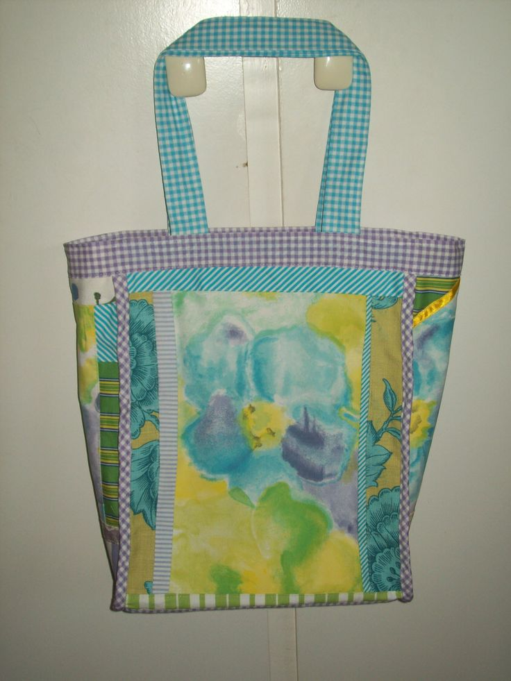 A happy patchwork bag: for Kerry's friend