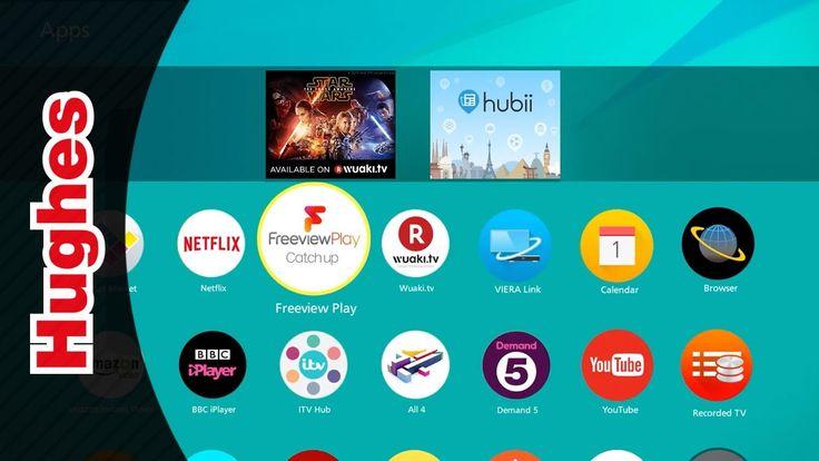 Panasonic 2017 TVs Freeview Play