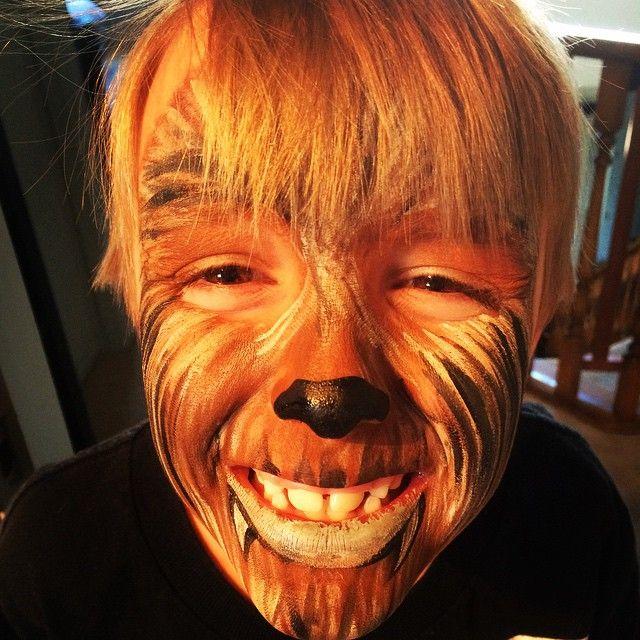 chewbacca facepaint - Google Search