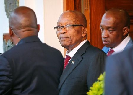 ICYMI: South Africa's ANC decides to remove Zuma as head of state: source