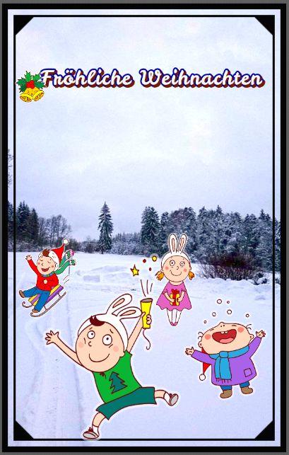 Lustige Weihnachtsfeiertage – Fröhliche Weihnachten