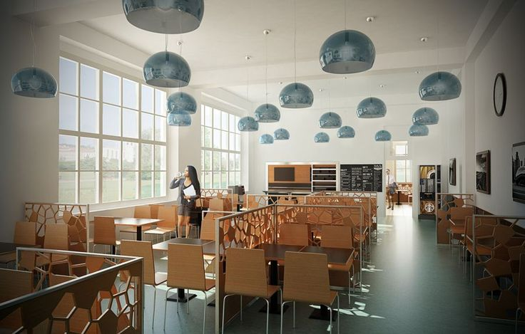 ipvz visualisation of the cafeteria design