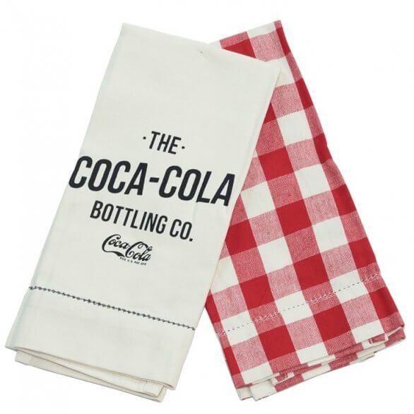 Coca-Cola Bottling Company Kitchen Towels - Set/2