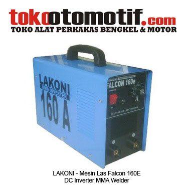 Kode : 10000000204 Nama : Lakoni Mesin Las Falcon 160E Merk : Lakoni Tipe : Falcon 160E Status : Siap Berat Kirim : 5 kg