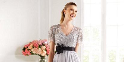 Vestidos de madrinas y de fiesta: Pronovias 2014 | Preparar tu boda es facilisimo.com