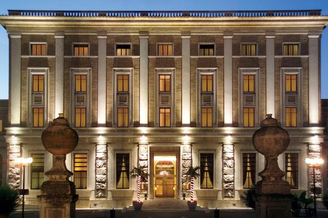 _: Reviews: Hotel Domus Mariae Palazzo Carpegna in Rome, Italy. Reviewed by www.fromatravellersdesk.com