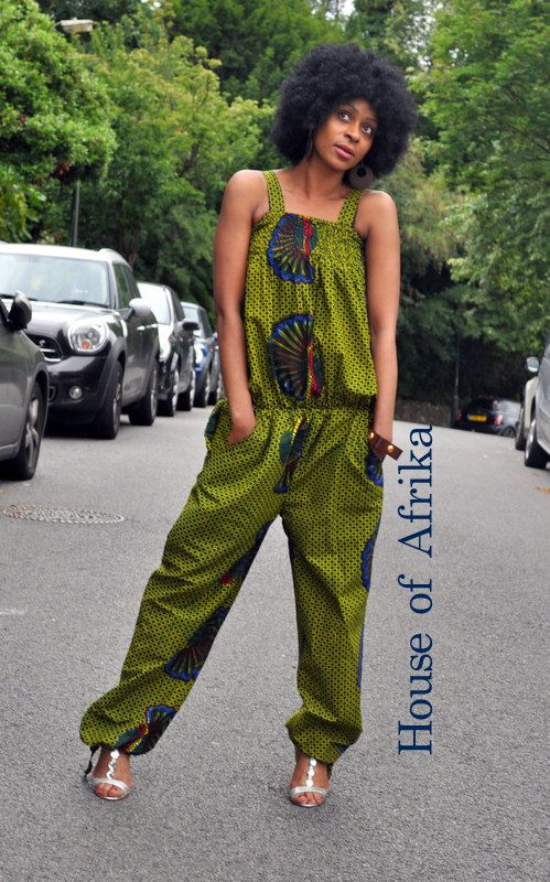 Jumpsuit by HouseofAfrika on Etsy