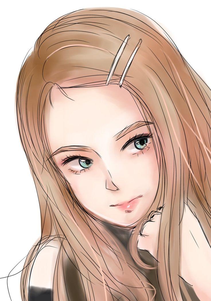 Ilustrasi karakter oleh 제리 di BLACKPINK FANART Seni
