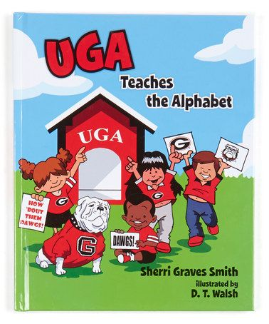 Another great find on #zulily! Georgia Bulldogs UGA Teaches the Alphabet…