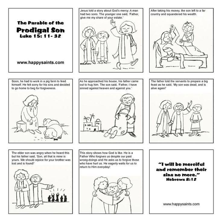 61 best Prodigal Son Parable images on Pinterest | Prodigal son ...