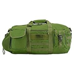 The Tactical Duffle Bag (Small) - Olive Green