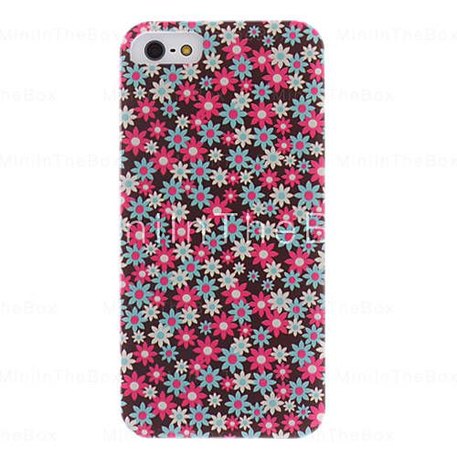 [USD $ 3.99]  - Colorful Sunflower Pattern PC Hard Case with Interior Matte for iPhone 5/5S