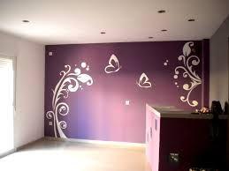 diseños en paredes de mariposas
