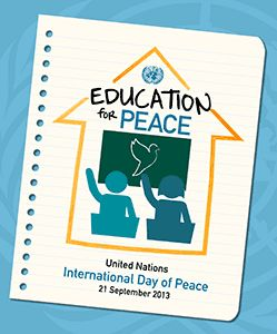September 21 - International Day of Peace. One of the most important international days!!!