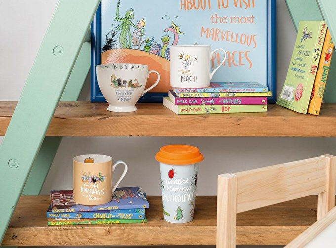 Visit the most marvellous places: new James and the Giant Peach homeware