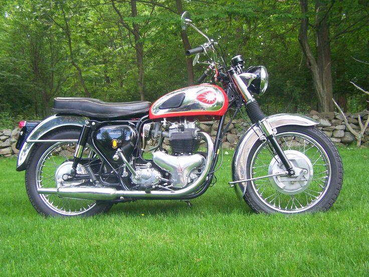 bsa motorcycles | 1958 A10 Golden Flash and 1963 A10 Super Rocket